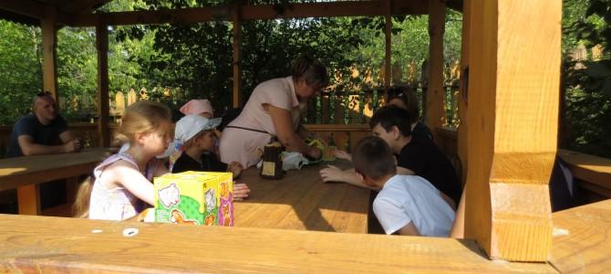 Наши дети посетили тренинг по зоотерапии на территории детского контактного зоопарка