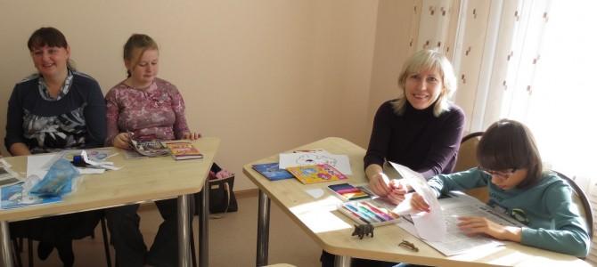 Занятие «Необычной школы для детей» 17 октября. Фото