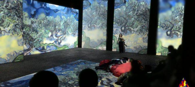 Наши дети посетили мультимедийную выставку Винсента Ван Гога. Фото