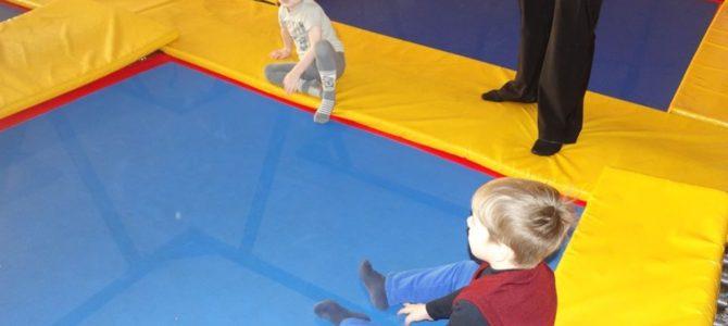 8 января наши малыши посетили батутный центр