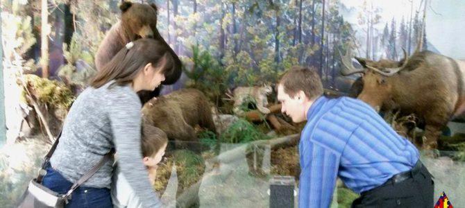 Ребята из «Необычной школы» для малышей посетили отдел природы Иркутского областного краеведческого музея