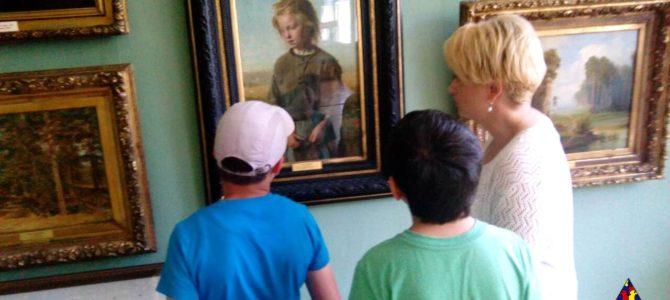 Наши ребята посетили Иркутский художественный музей