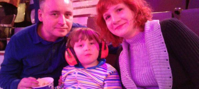 8 октября, посещение цирка вместе с организацией «Шаги детства»