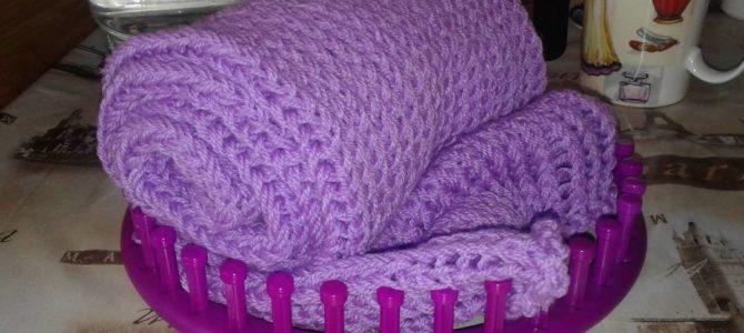 Кошкина дочка Даша. Фиолетовый шарф