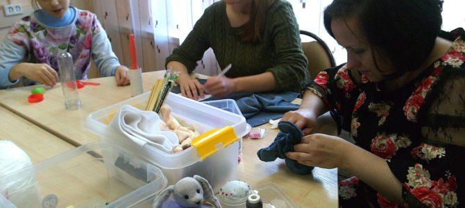 26 октября, занятие «Необычной школы» в Гуманитарном центре — библиотеке им. семьи Полевых. Мастер — класс. Фотохроника (52 фотографии)